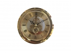 Gold Skeleton Clock Movement - 100mm