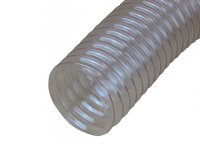 Charnwood 100mm diameter, transparent flexible hose, 2.5m