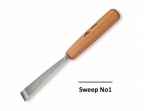 Stubai Carving Tool #1 Straight Chisel - 10mm