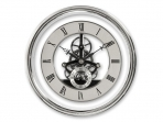 Silver Skeleton Clock Movement - 150mm