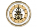 Gold Skeleton Clock Movement - 150mm